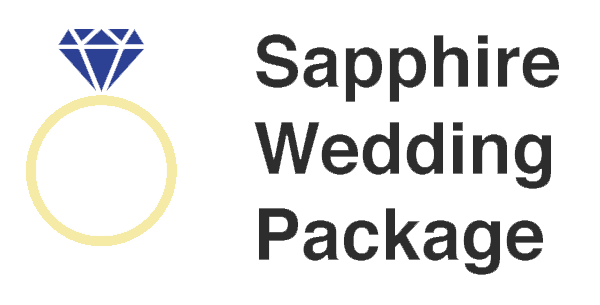 Saphire Wedding